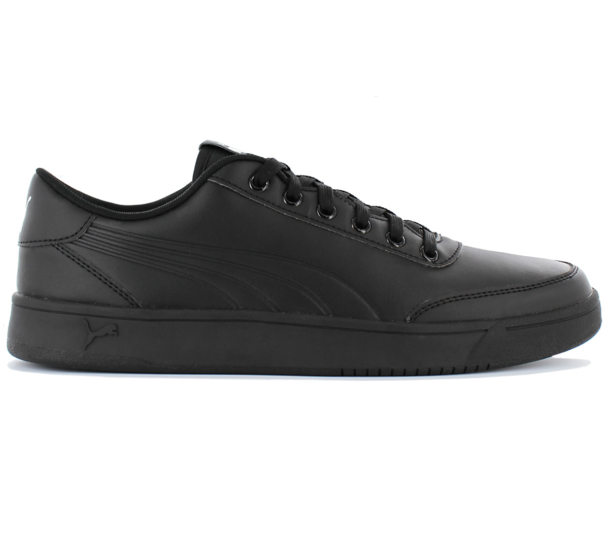 Details about Puma Court Breaker L Mono Men's Sneaker Shoes Leather Black Trainers 364976 01