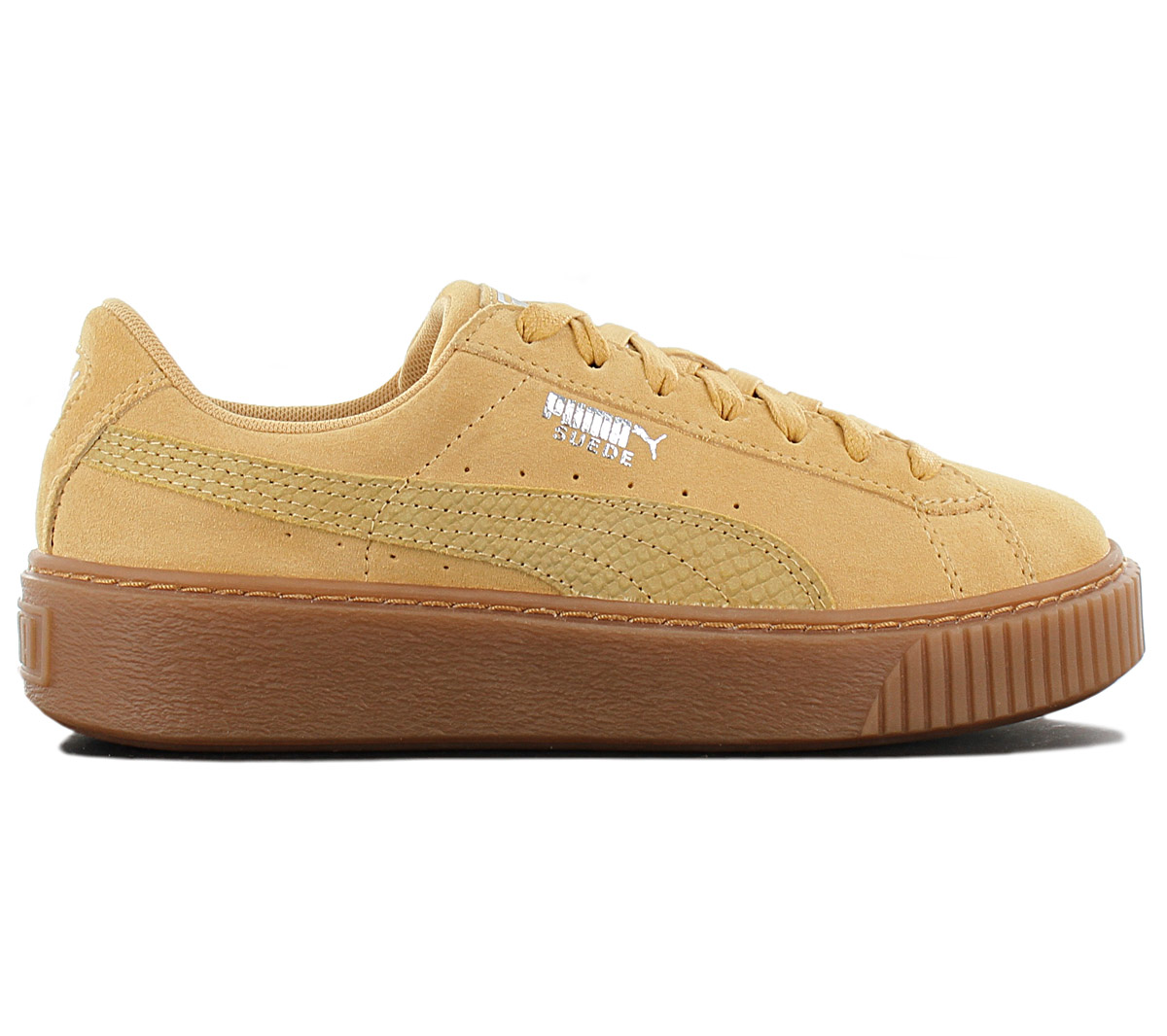 reputable site 31d4f 12b30 Details about Puma Suede Platform Animal Women's Sneaker 365109-04 Brown  Trainers New