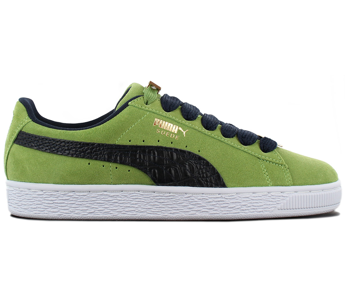 Details about Puma Suede Classic B Boy Fabulous Sneaker Shoes Sneakers 365362 03 Green New