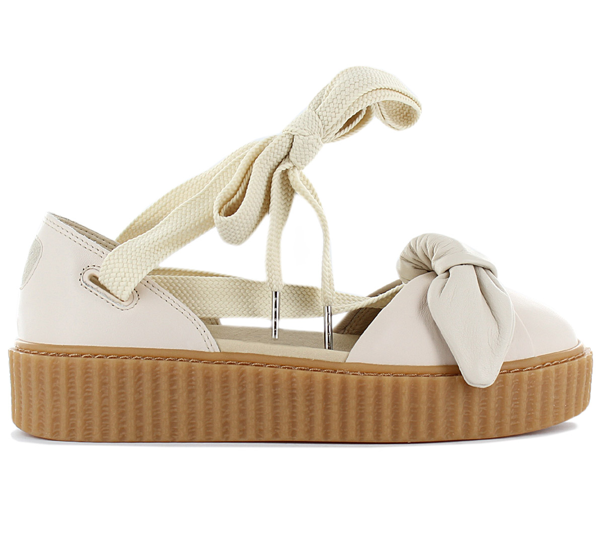 premium selection ea1d4 82978 Details about Fenty x Puma by Rihanna Creeper Bow Women's Sandals 365794-02  Sneaker Shoes New