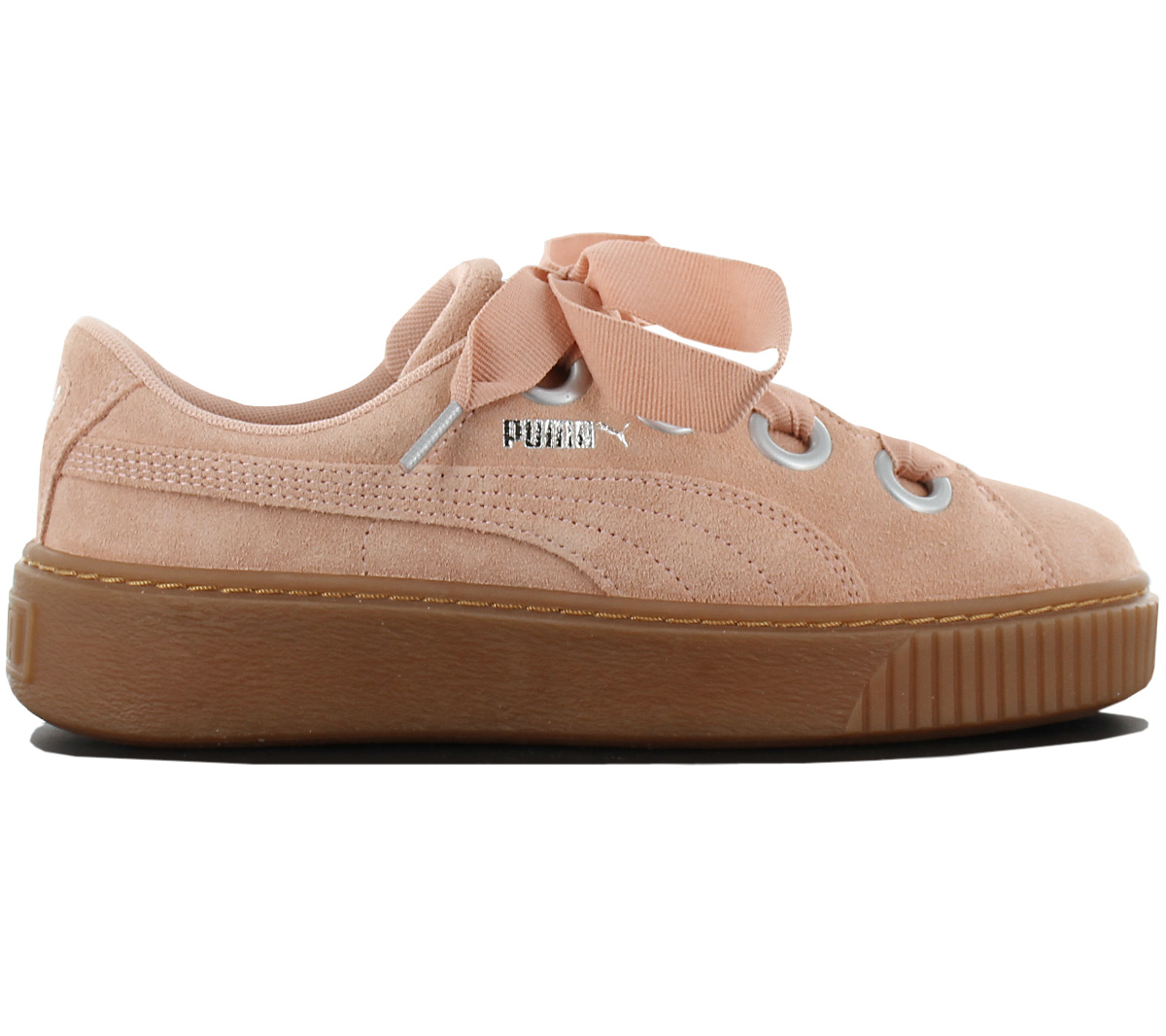 c0d9882a08af98 Puma Platform Kiss Suede Women s Sneakers Leather Shoes Sneakers ...