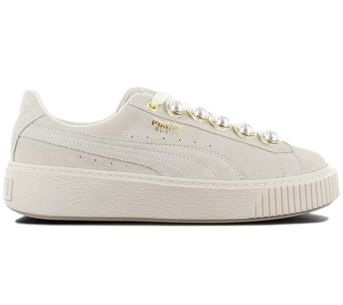 on wholesale release date Super discount Details about Puma Suede Platform Bling Sneaker Women's Shoes Grey-White  366688-02 Trainers