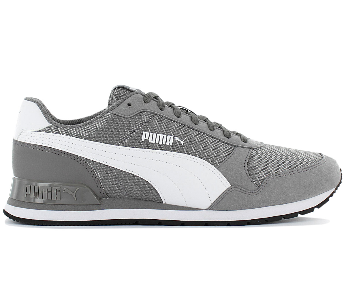 Puma ST Runner V2 SD 36527909 Mens Gray Suede Low Top Lace