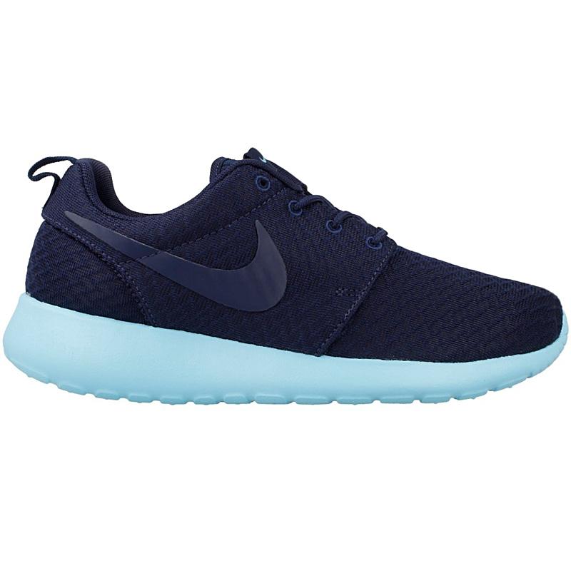 Nike wmns roshe one schuhe damen sneaker turnschuhe blau for Schuhschrank nike