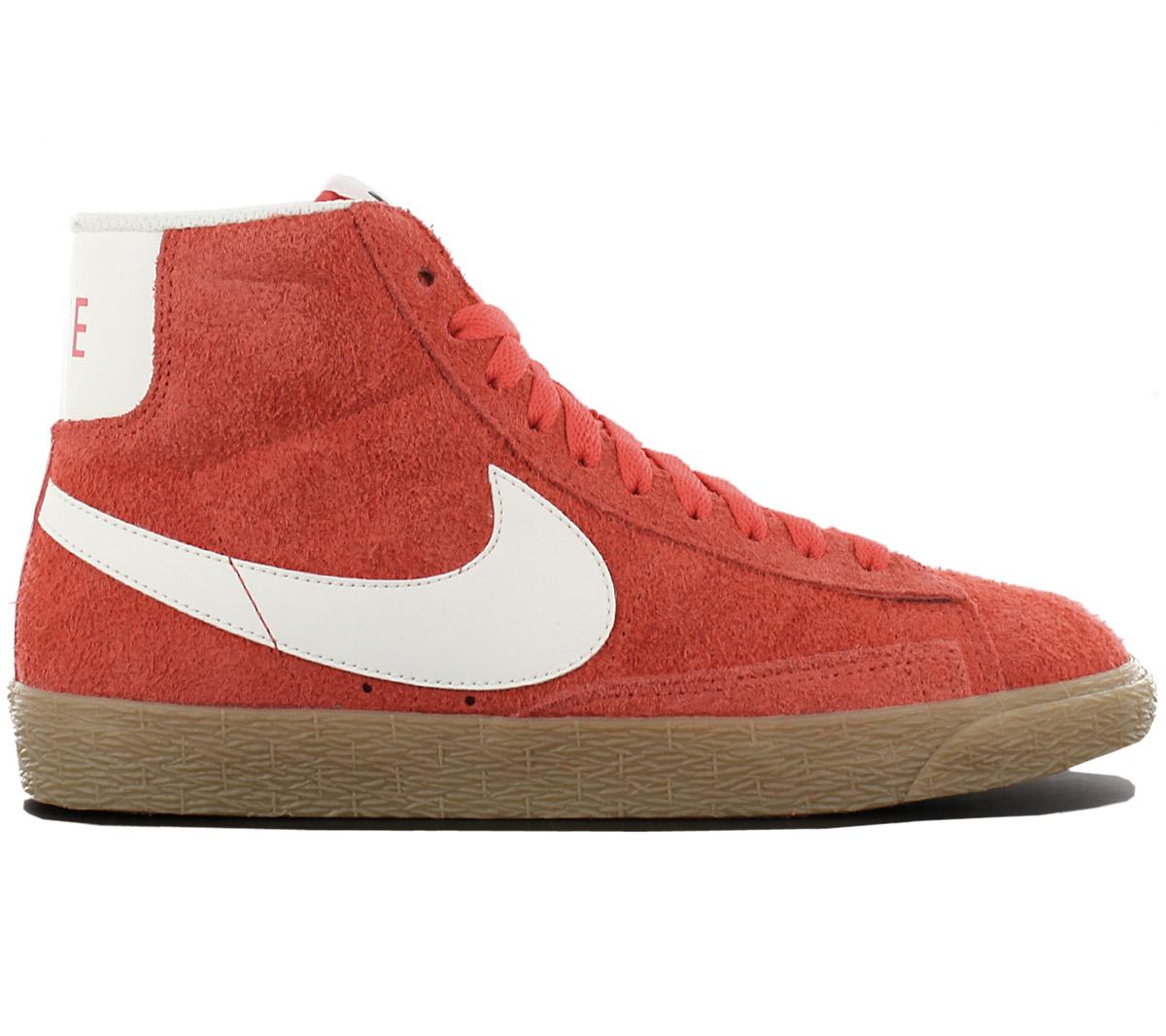 Nike Blazer Mid Damen Turnschuhe Sneaker Schuhe Retro Fashion Turnschuhe Damen Freizeit Leder NEU dd881f