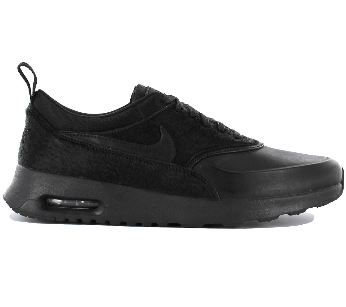 wholesale dealer de762 66798 Nike Air Max Thea Premium Ladies Sneaker Shoes Leather Black 616723 ...