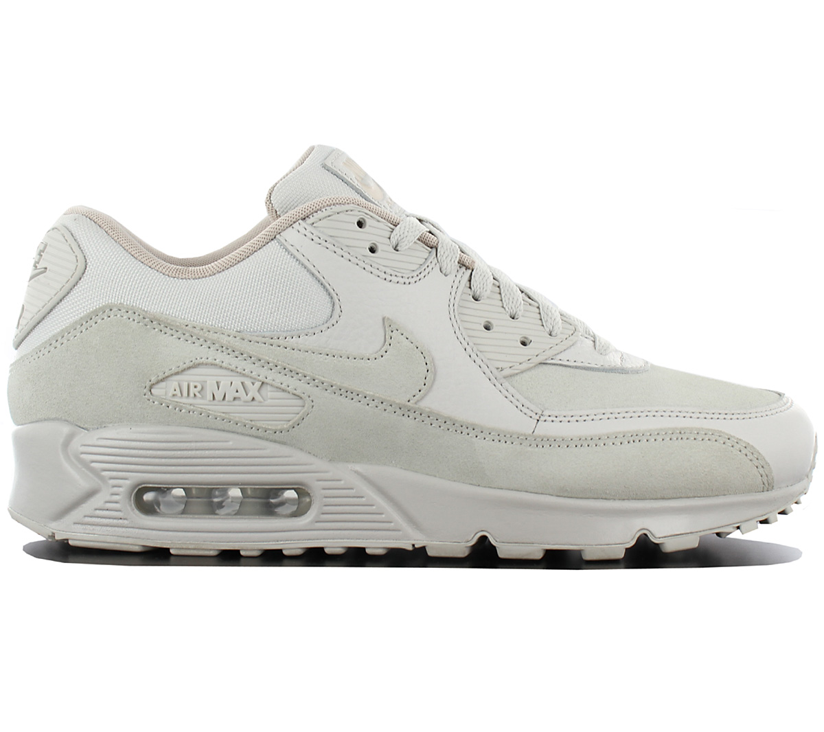 lowest price 79ac1 56f4d Nike Air Max 90 Leather Premium Mens Sneakers Shoes - Light