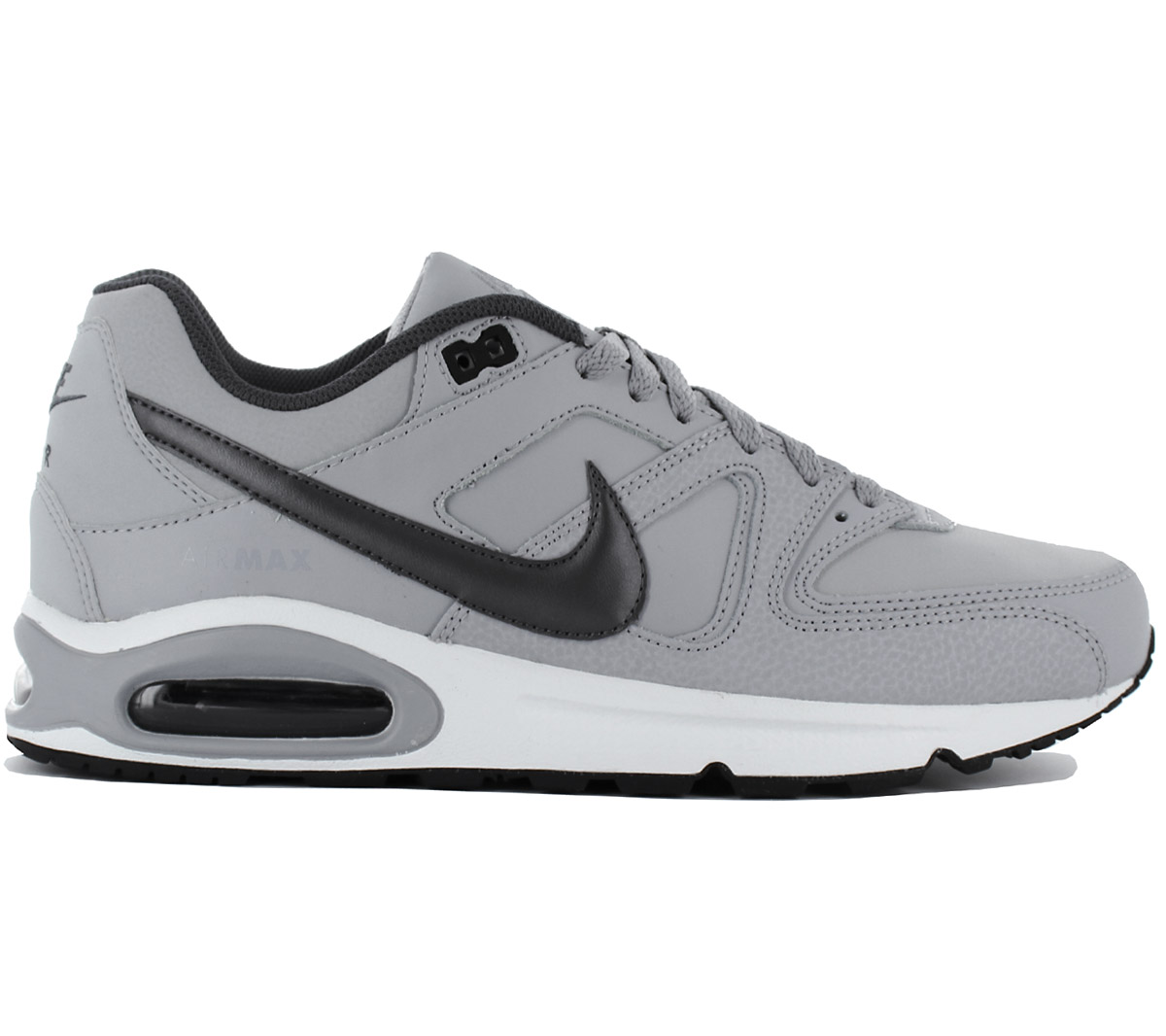 Details about Nike air max Command Leather Men's Sneaker Shoes 749760 012 Leather Grey New
