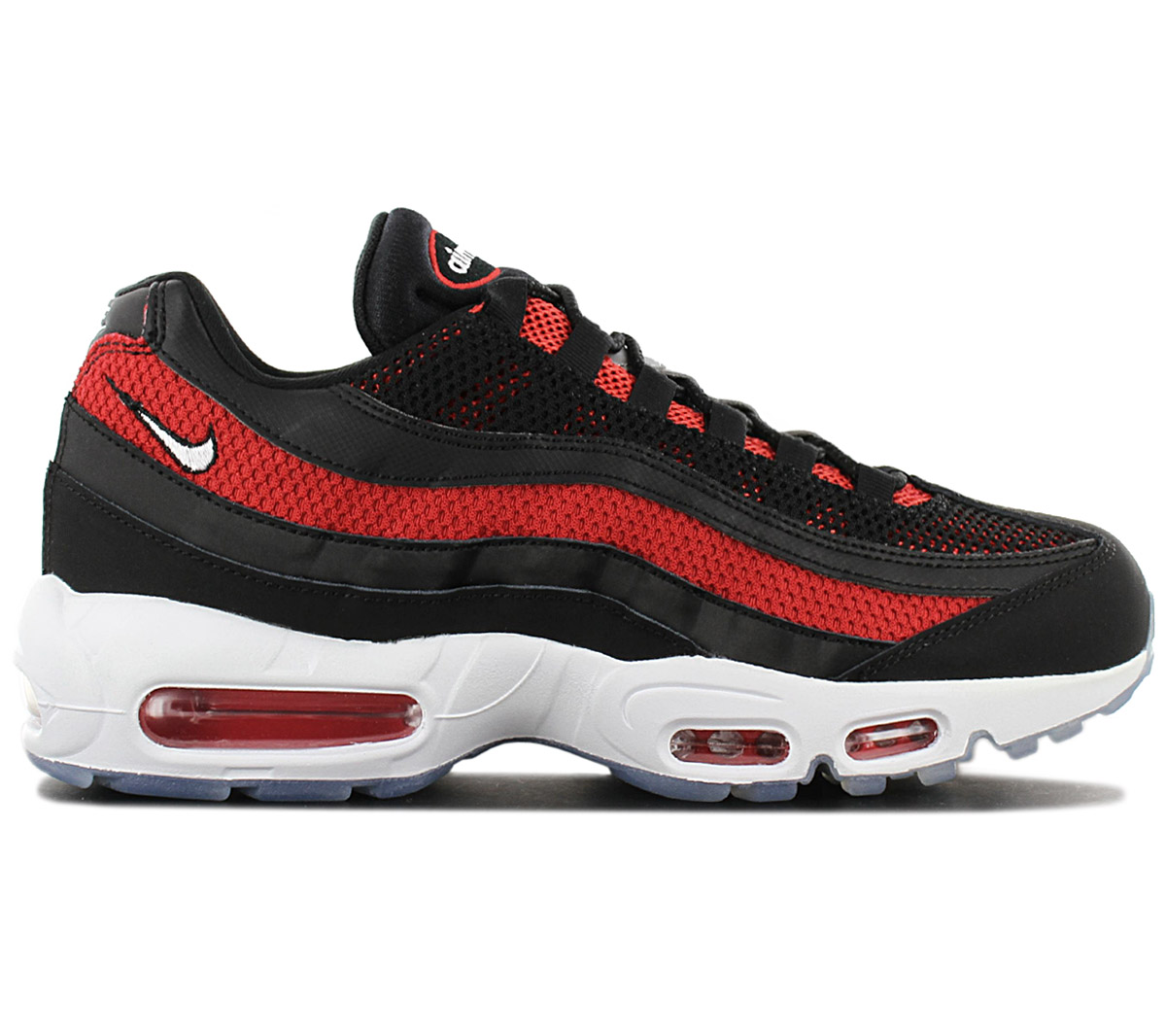 Details about Nike air max 95 Essential Men's Sneaker 749766 039 Black Shoes Trainers New