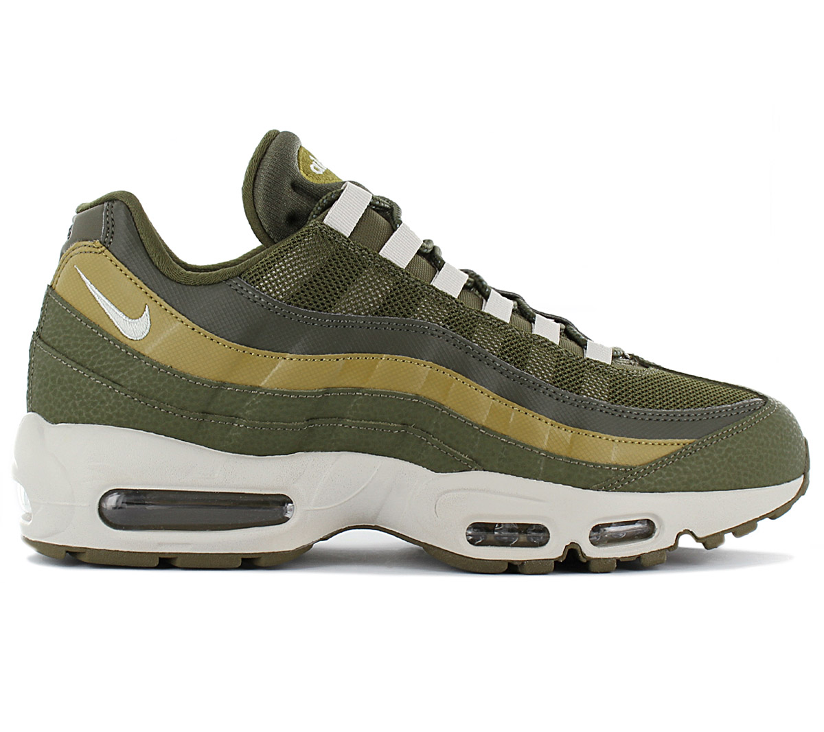 new style a90a3 bf354 Details about Nike air max 95 Essential Men's Sneaker Shoes 749766-303  Olive Green Trainers
