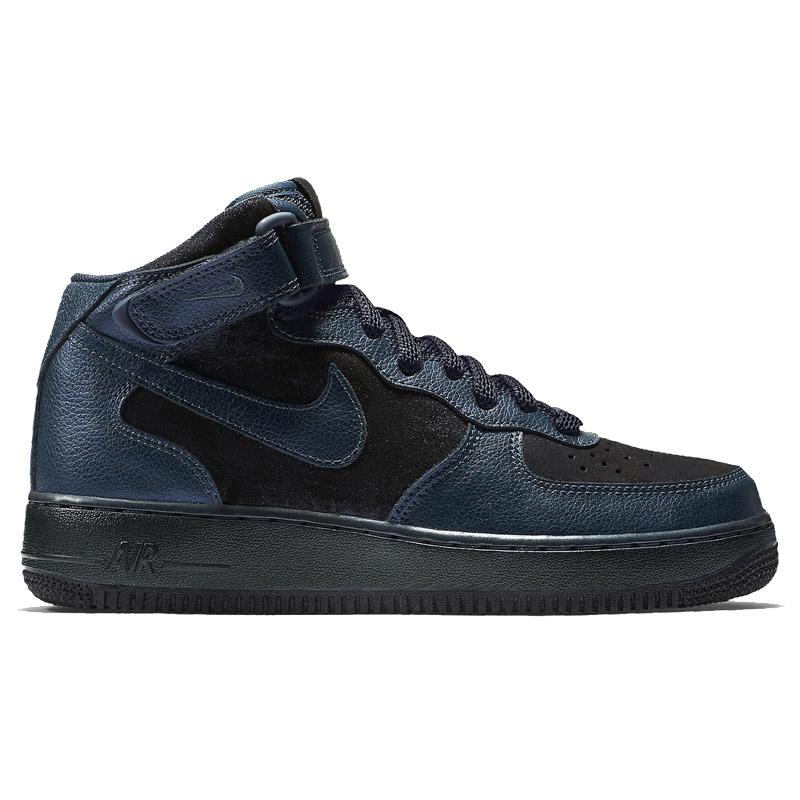 NEU Nike Wmns 07 Air Force 1  07 Wmns Mid Premium Damen Schuhe Navy-Blau 805292-900 SALE e5e8dd
