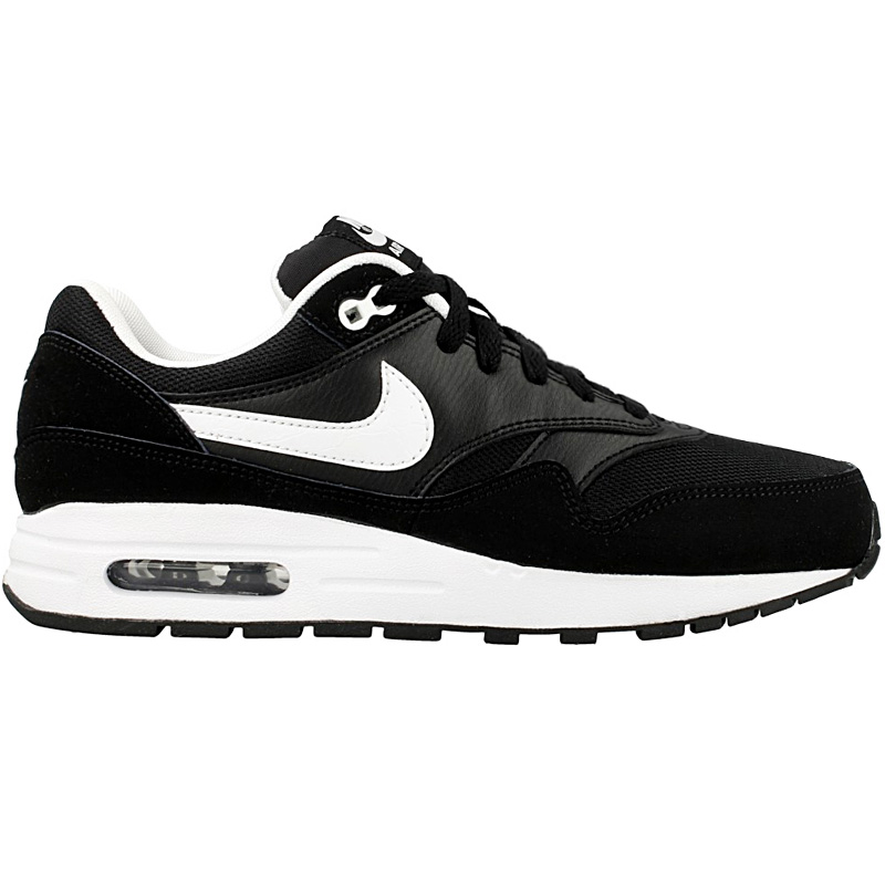Details about Nike Air Max 1 Womens Trainers Shoes Sneakers 807602 001 Black Sport Shoe NEW show original title