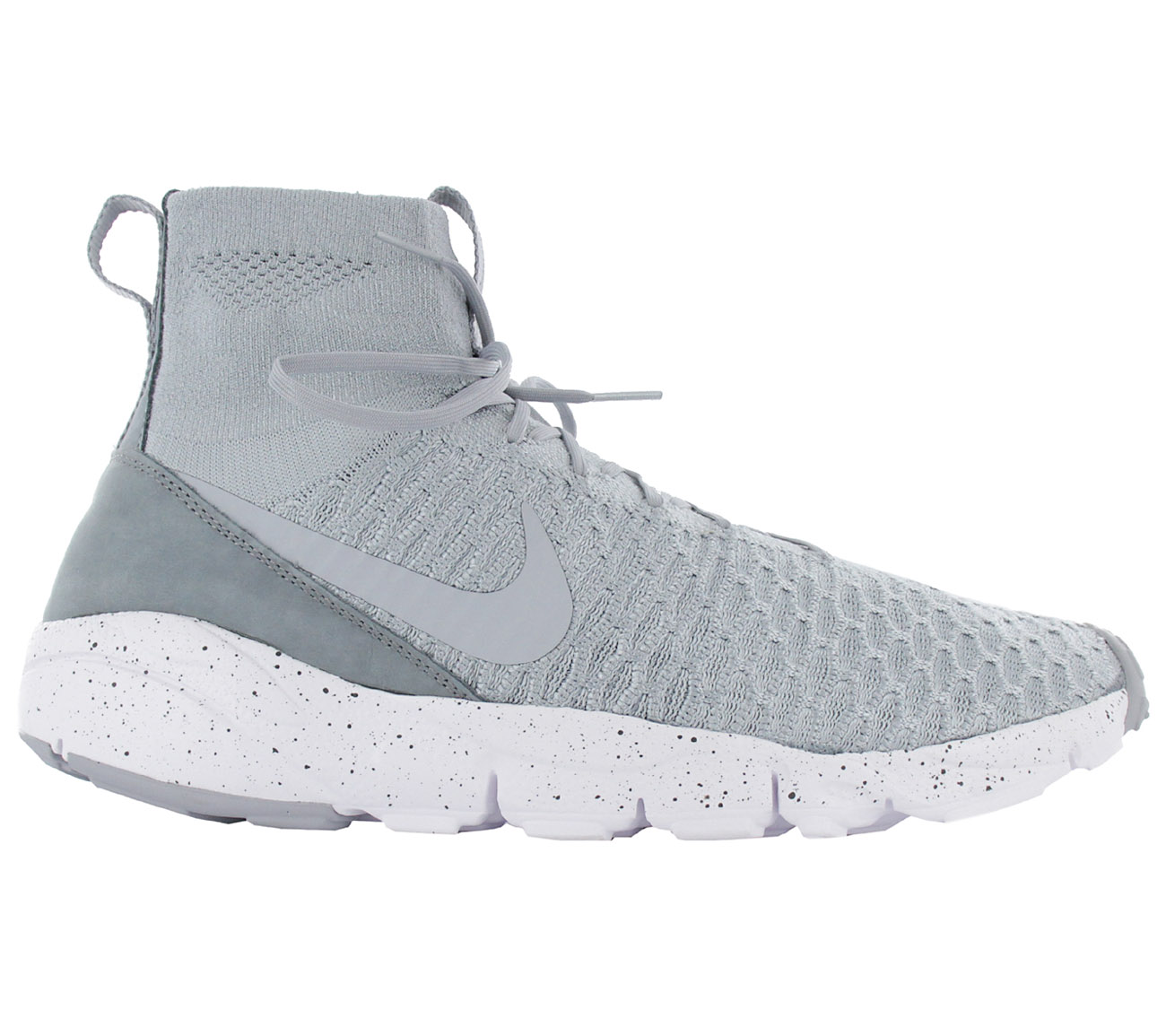 d99bd9ad9a79 Nike Men s Sneakers Air Footscape Magista Flyknit Shoes Grey 816560 ...