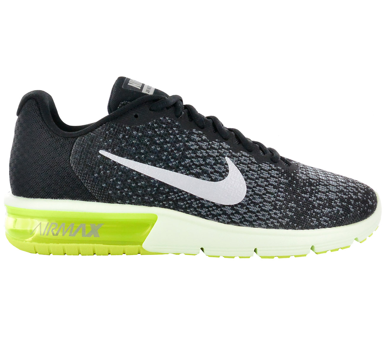 the best attitude fabcc 07f2e Nike Men s Sneakers Air Max Sequent 2 Shoes Black Sneakers Leisure ...