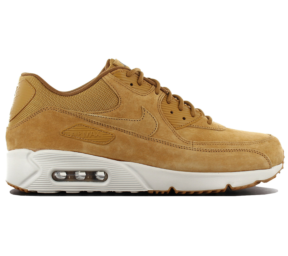 79e275f37478 Nike Air Max 90 Ultra 2.0 Leather Ltr Men s Sneakers Shoes Brown ...