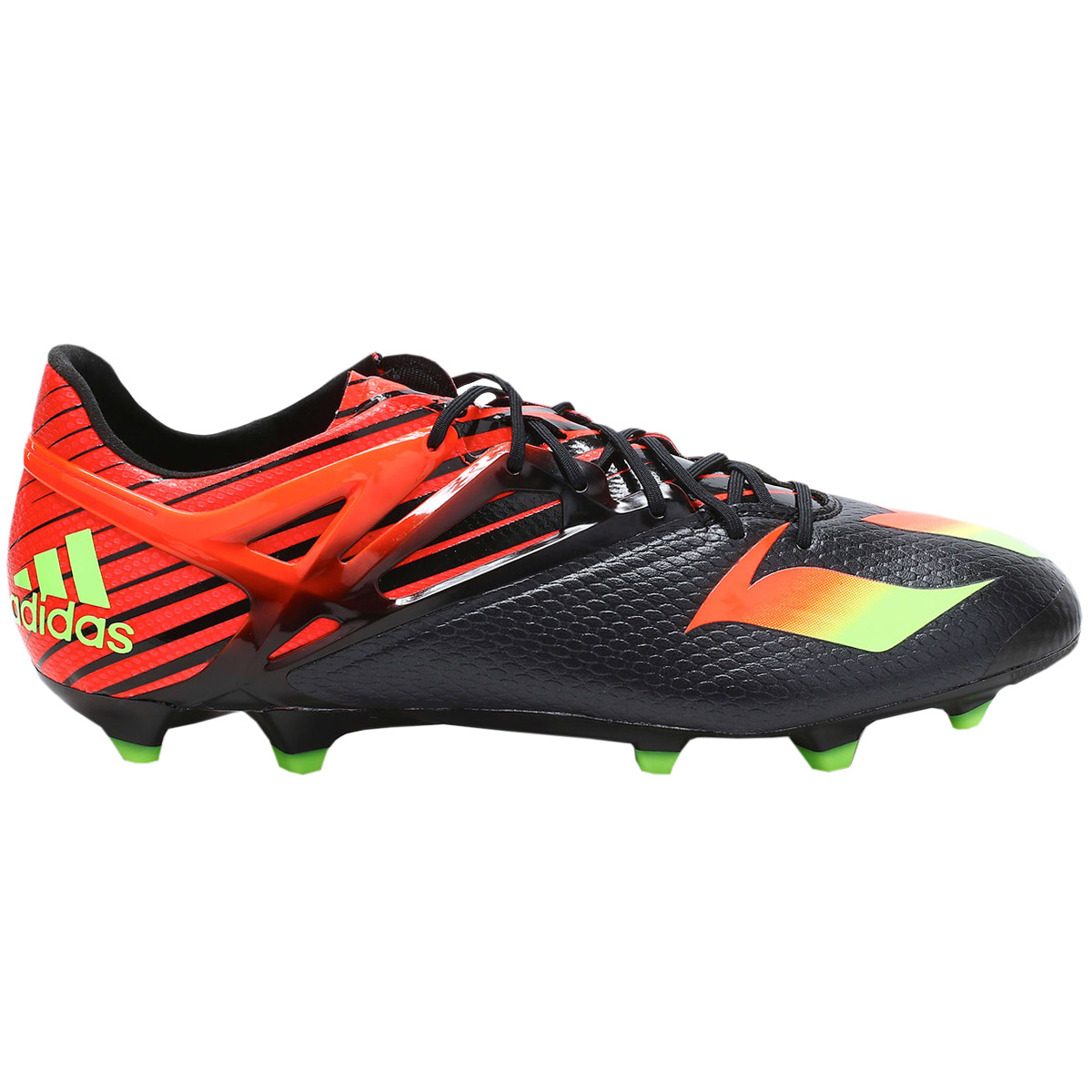 25f5c7313df Adidas Football Boots Messi 15.1 Fg Ag Men s Black-Red Studs New Fg ...
