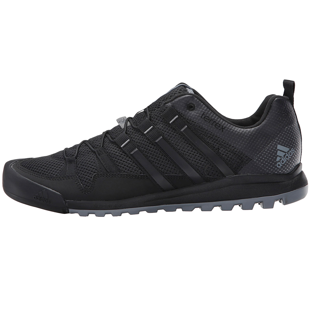 adidas terrex black mens climbing shoes hiking boots
