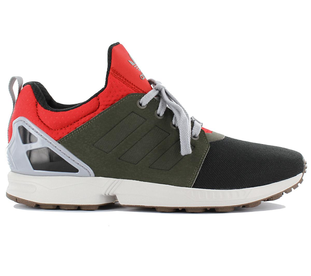 adidas zx flusso dei updt scarpe scarpe da uomo nero formatori occasionali