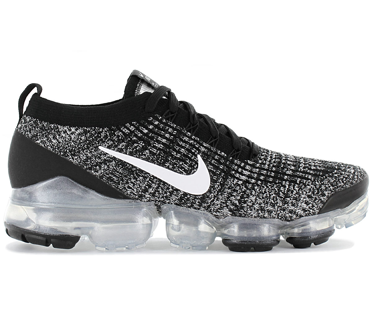 Details about Nike Air Vapormax Flyknit 3 Mens Trainer AJ6900 002 BlackSilver schuhe NEW show original title