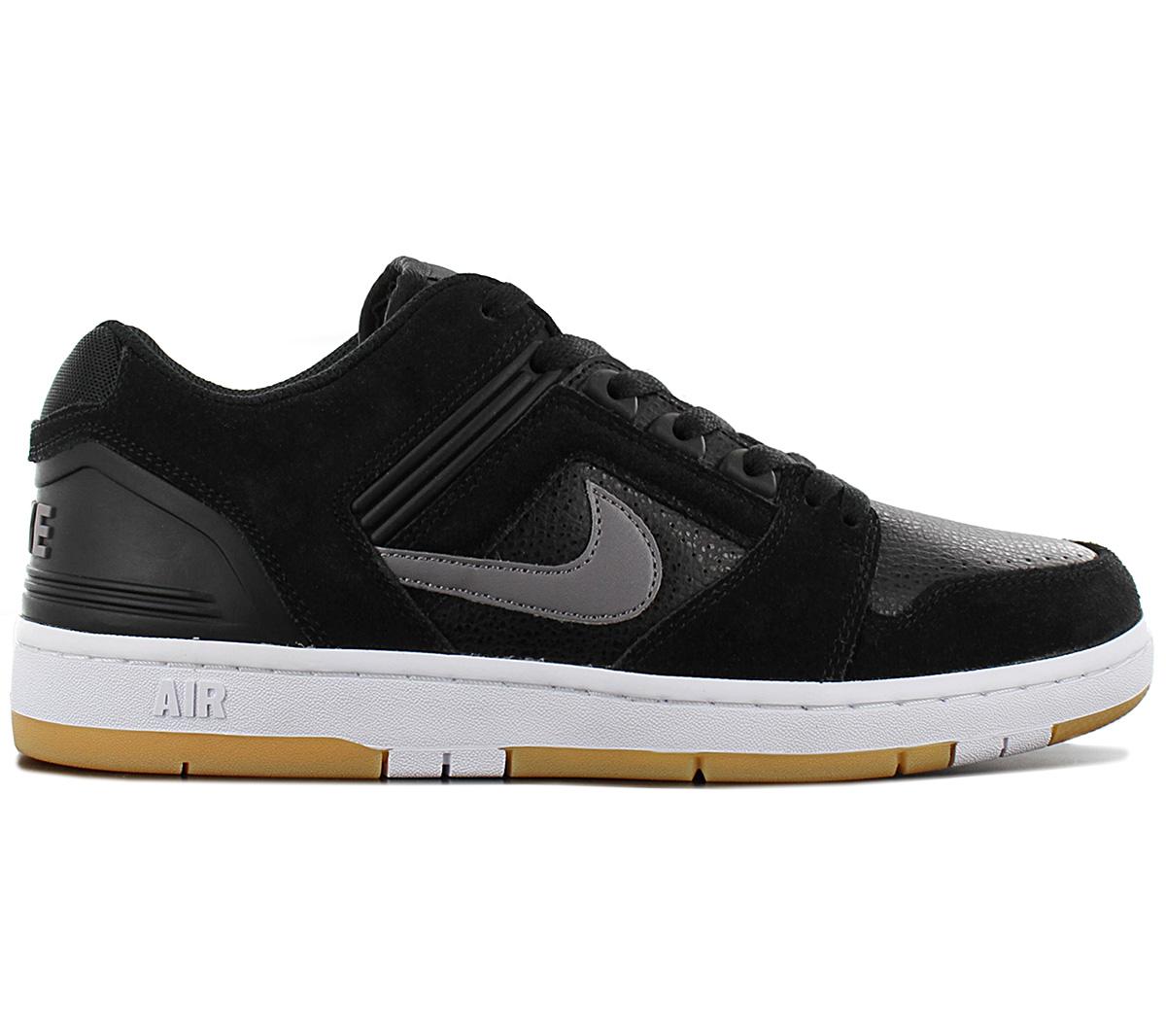 Nike SB Air Force II Low (black grey) AO0300 001   43einhalb Sneaker Store