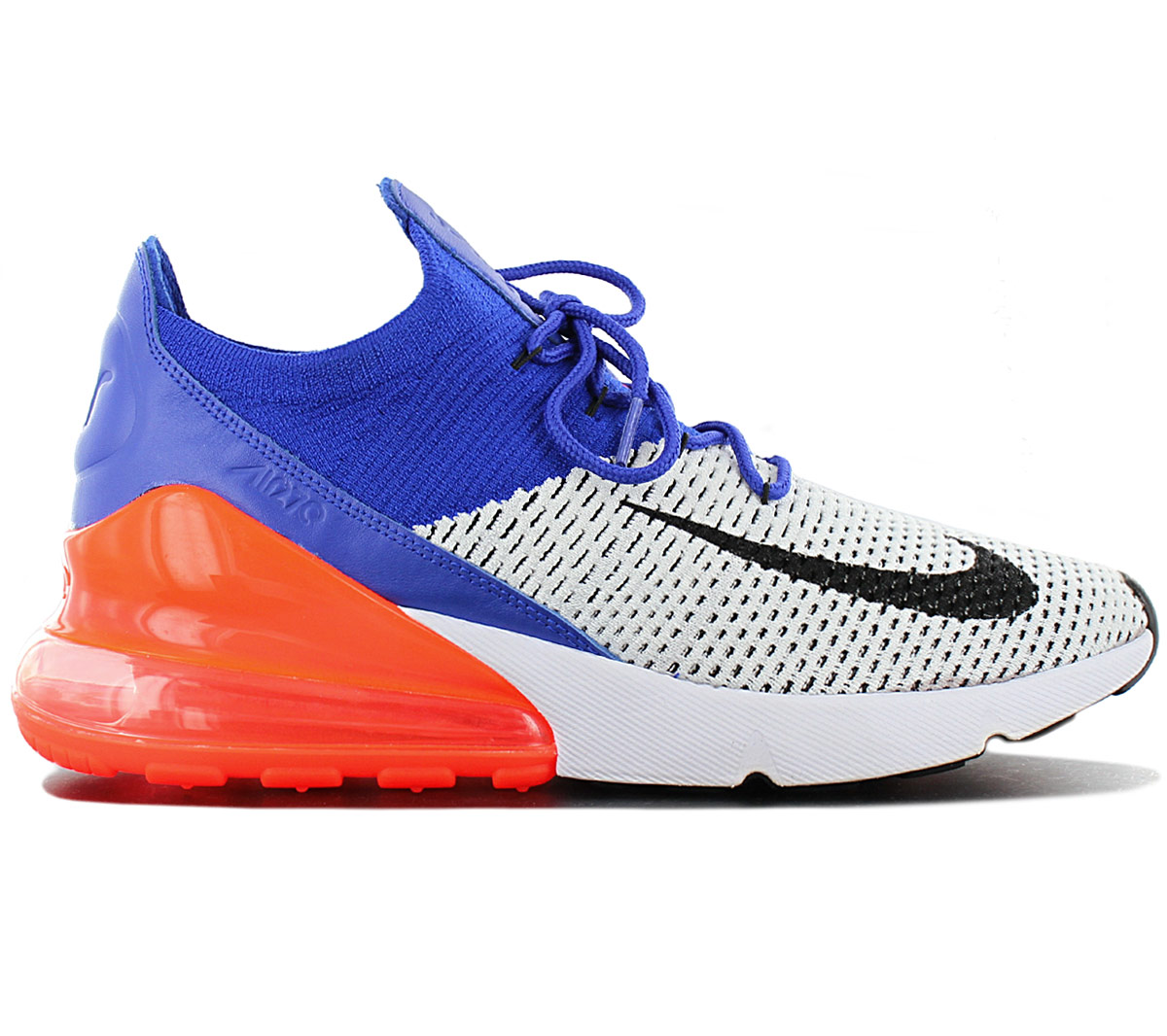 Details about Nike Air Max 270 Flyknit Ultramarine AO1023 101 Men's Sneakers Shoes New