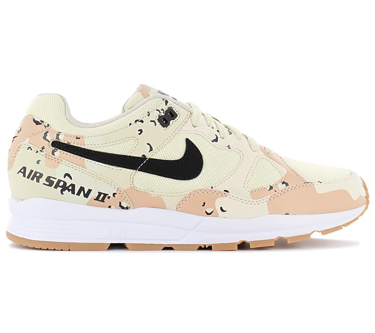 Tiranía Merecer viceversa  Nike Air Span II PRM Premium-Desert Camo Zapatillas Zapatos para  hombre-AO1546-200 | eBay