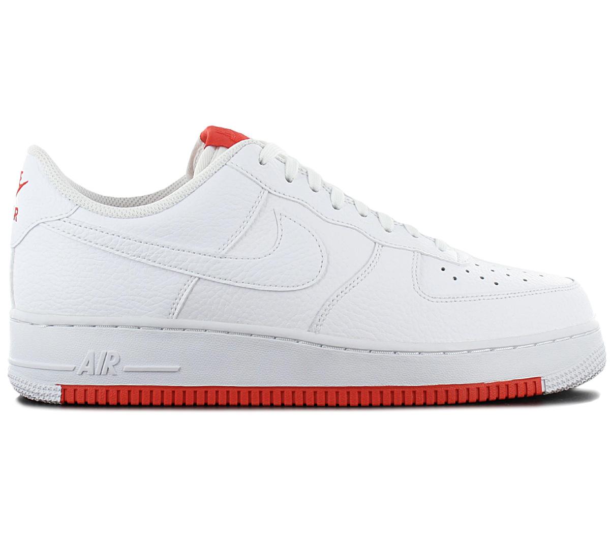 Detalles acerca de Nike Force 1 bajo 07 hombres Air'S Zapatillas Zapatos Tenis Cuero Blanco AO2409 101 mostrar título original