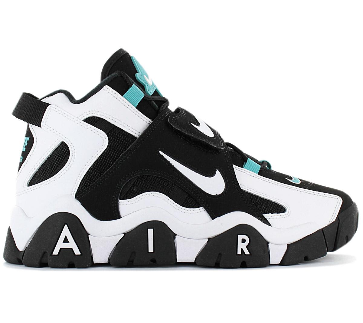 Dettagli su Nike Air Barrage Mid Uomo Sneaker AT7847 001 Scarpe da Basket Ginnastica Nuovo