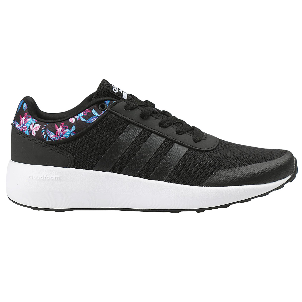 adidas ladies cloudfoam trainers