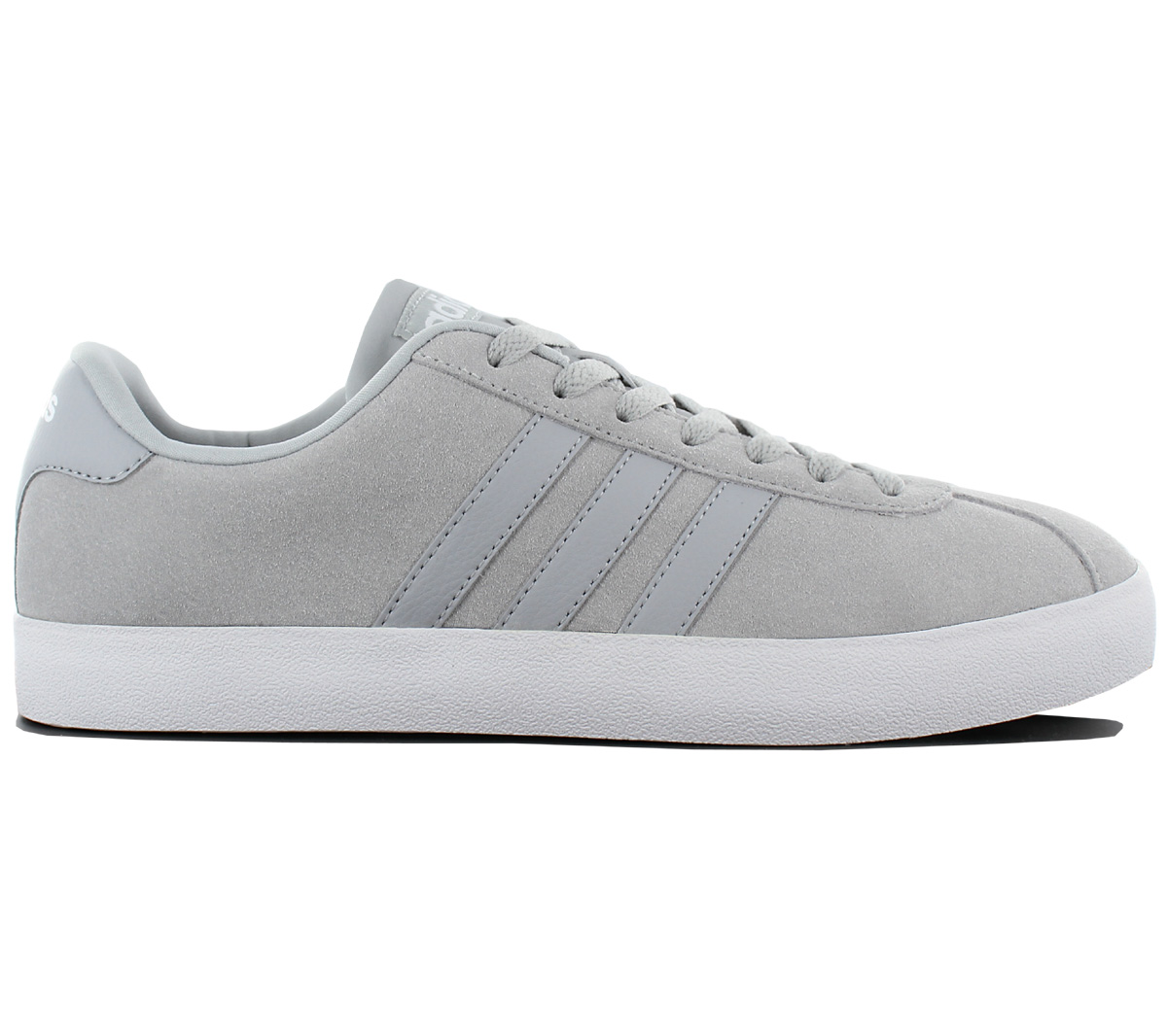 Adidas VL Court Freizeit Niedrig Leder Herren Sneaker Schuhe Freizeit Court Turnschuhe Retro Skate 23af11