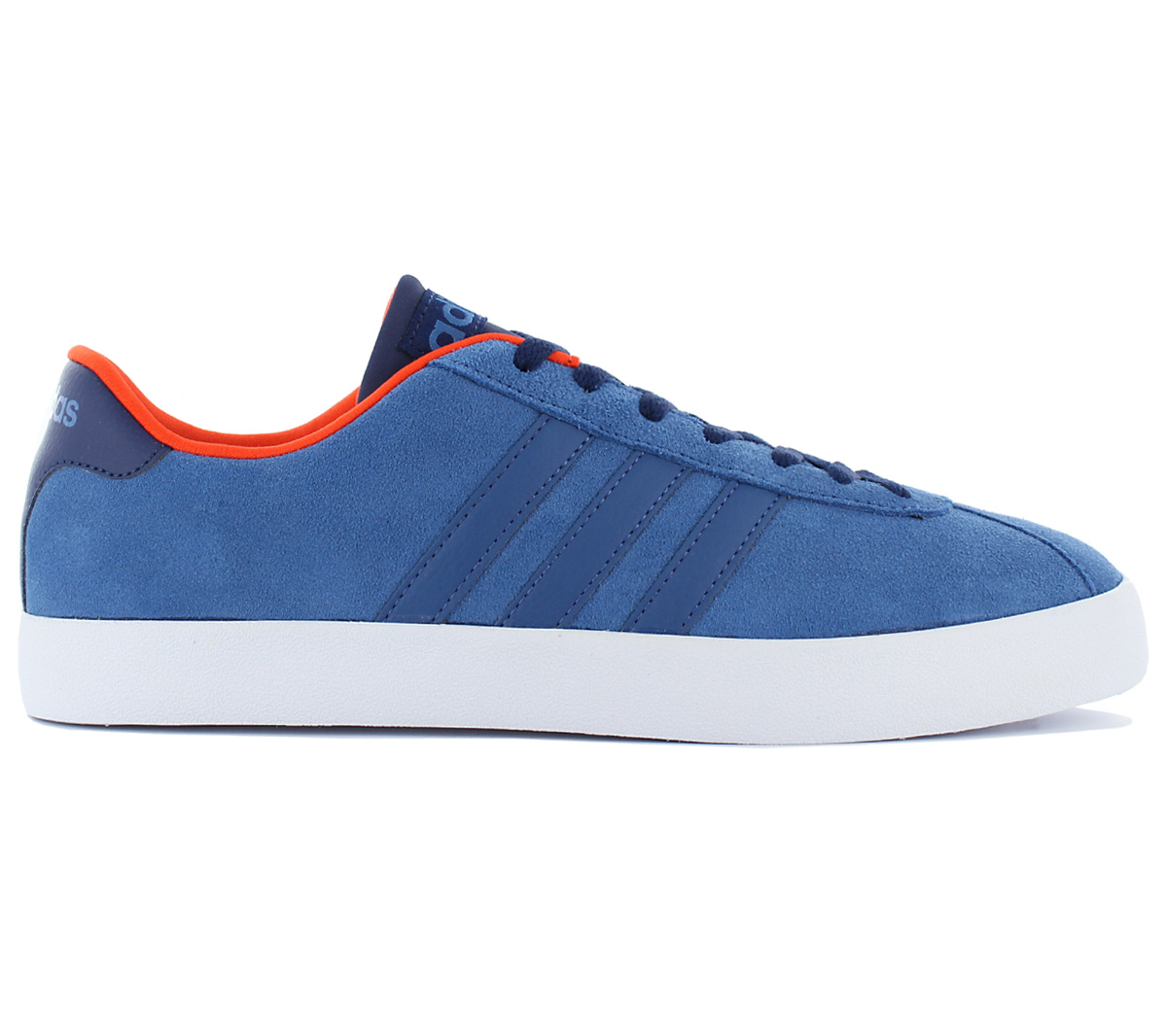 Adidas VL Court Vulc Low Sneaker Men 's Shoes Blue Skate Shoes Trainers aw3963