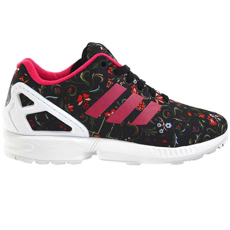 adidas zx flux w flower damen sneaker schuhe turnschuhe blumen neu originals ebay. Black Bedroom Furniture Sets. Home Design Ideas
