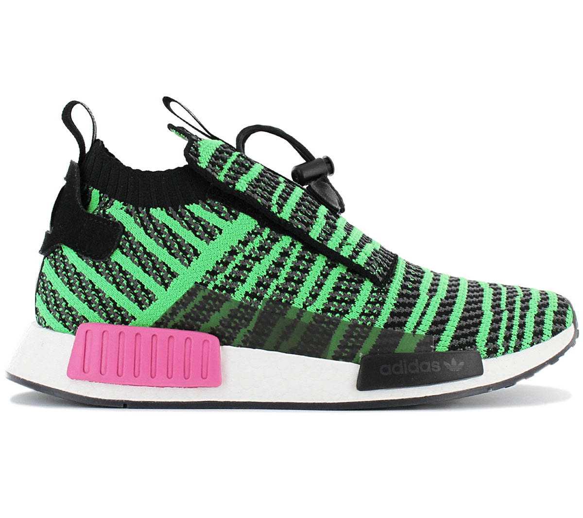 adidas Originals NMD R2 PK Verde Scarpe Sneakers basse