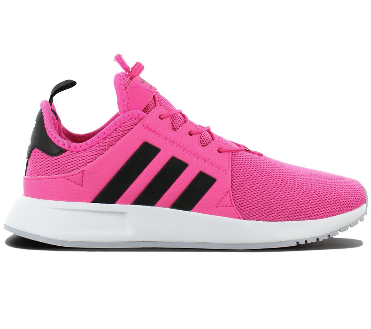 Details zu adidas Originals X PLR Damen Sneaker Schuhe Rosa Freizeit Turnschuhe BB1108 NEU