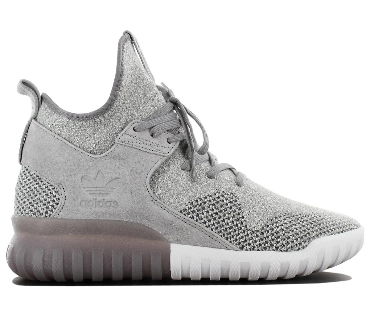 9ff4850687cd9 Details about Adidas Originals Tubular x Pk Primeknit Men's Sneaker mid  Shoes Grey BB2380