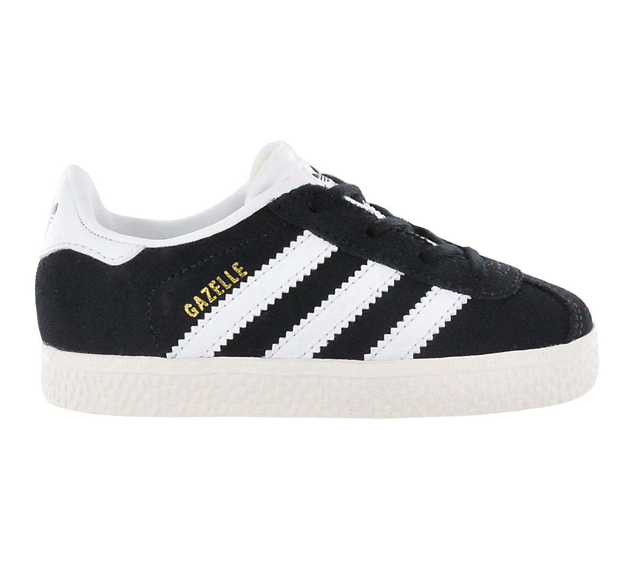 the best attitude 15f7b e3c44 Adidas Gazelle Y Childrens Shoes Leather Boys Girls Sneaker Black ...
