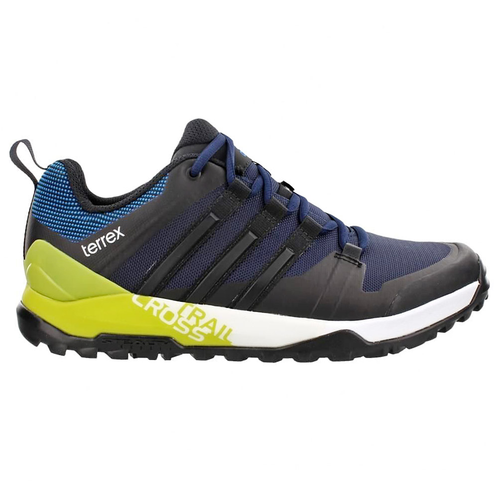adidas terrex trail cross sl navy blau herren wanderschuhe. Black Bedroom Furniture Sets. Home Design Ideas