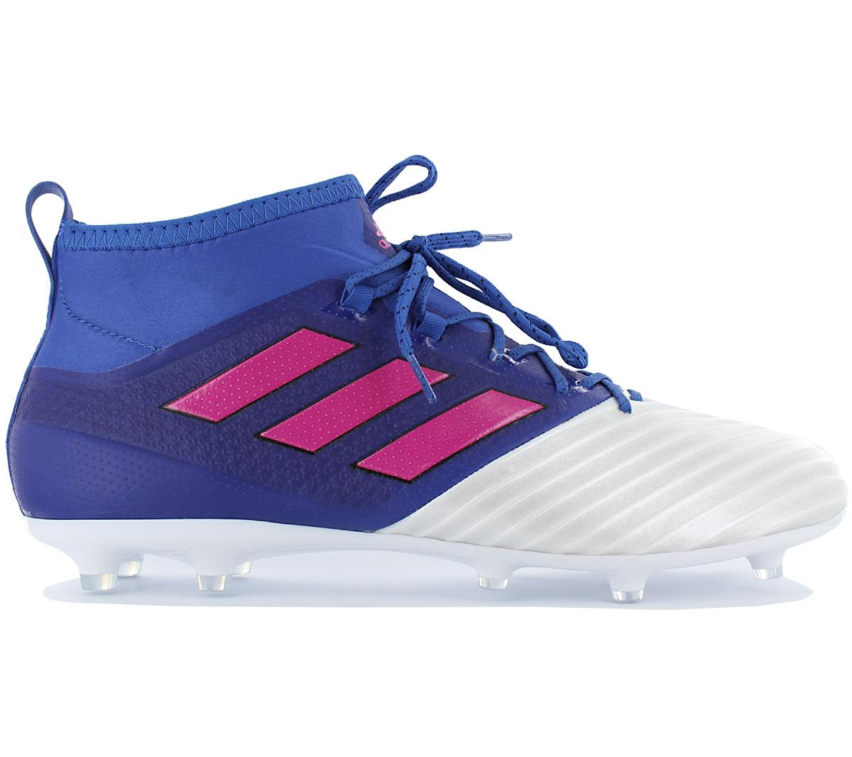 Adidas Ace 17.2 Primemesh Fg Men s Football Boots Blue Studs New ... ef1793760f6f