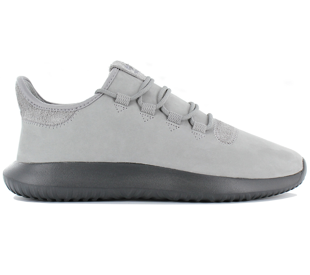 Details about Adidas Originals Tubular Shadow Leather Men's Sneaker Shoes Leather Grey BB6116