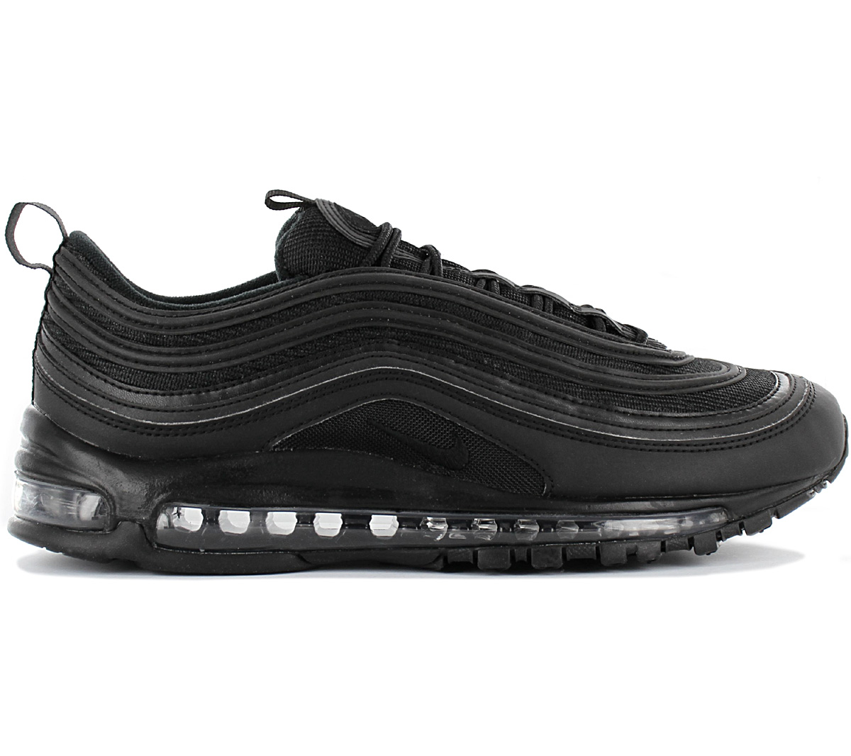 Details about Nike air max 97 Black Men's Premium Sneaker BQ4567 001 Shoes Black Trainers