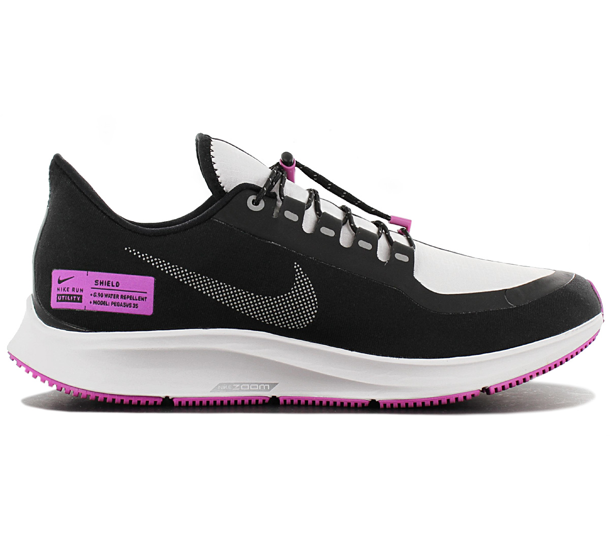 new concept 7d513 8f111 Details about Nike Air Zoom Pegasus 35 Shield NRG Men's Running Shoes  BQ9779-001 Running Shoe