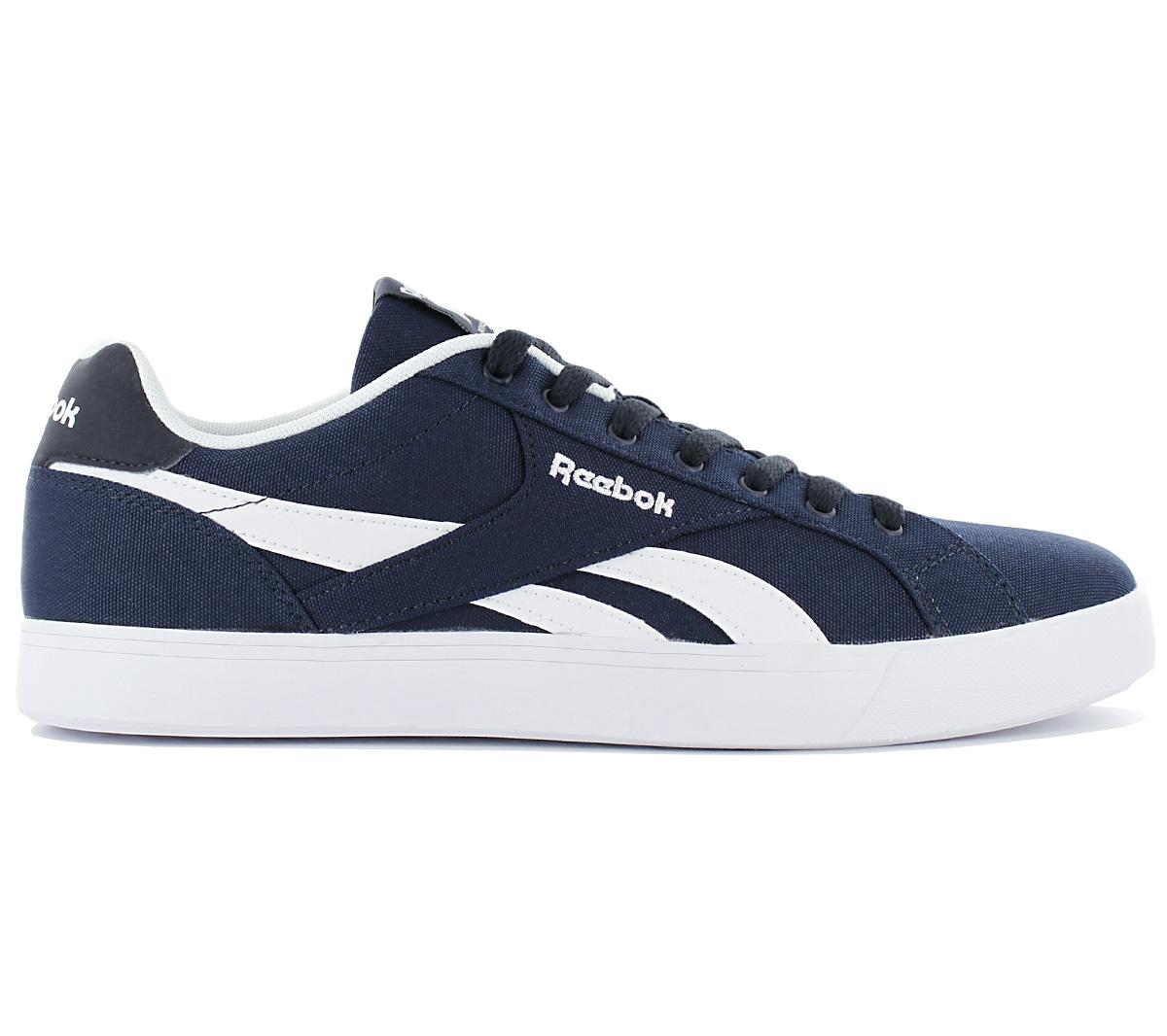 neuer Stil & Luxus Rabatt-Sammlung tolle Preise Details about Reebok Royal Complete 2 Lt Men's Sneaker Canvas Shoes  Sneakers Navy Blue Rbk
