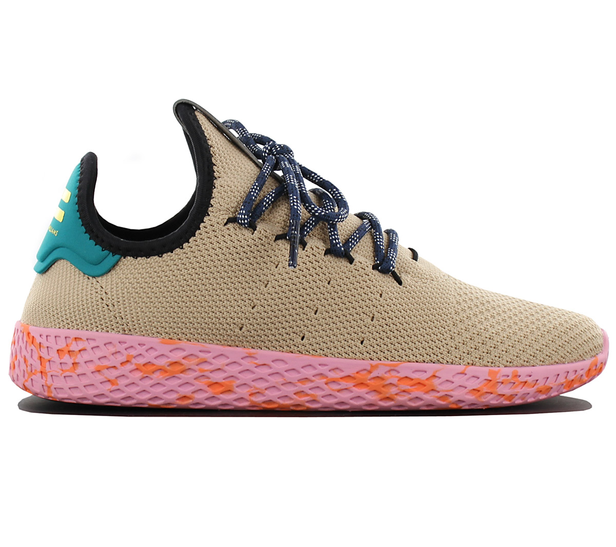 8c11a6ac9e74 Adidas Pharell Williams Pw Tennis Hu Ladies Trainers Shoes By2672 ...