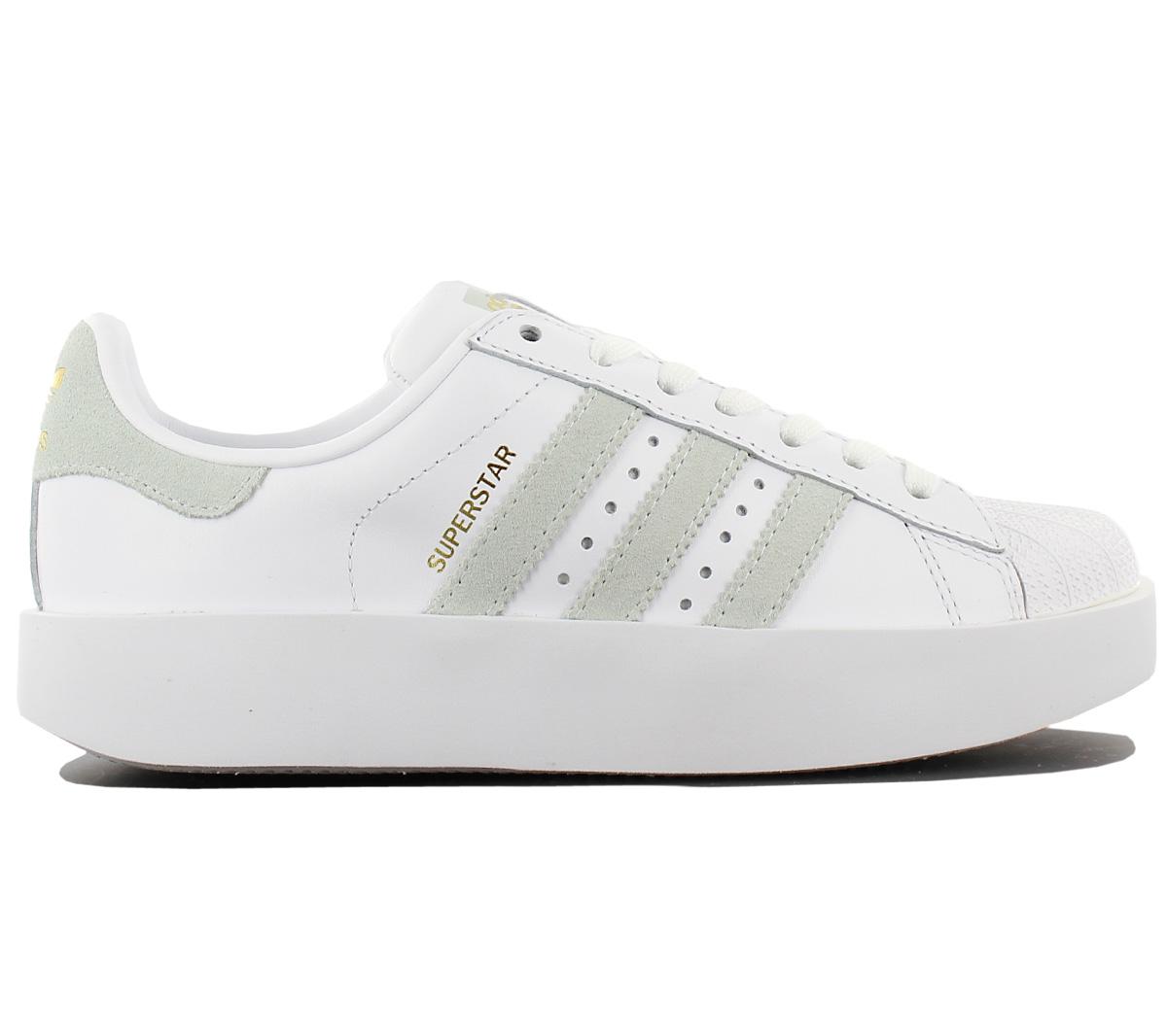 Sneaker Details Zu Weiß Neu Schuhe Damen Originals Plateau