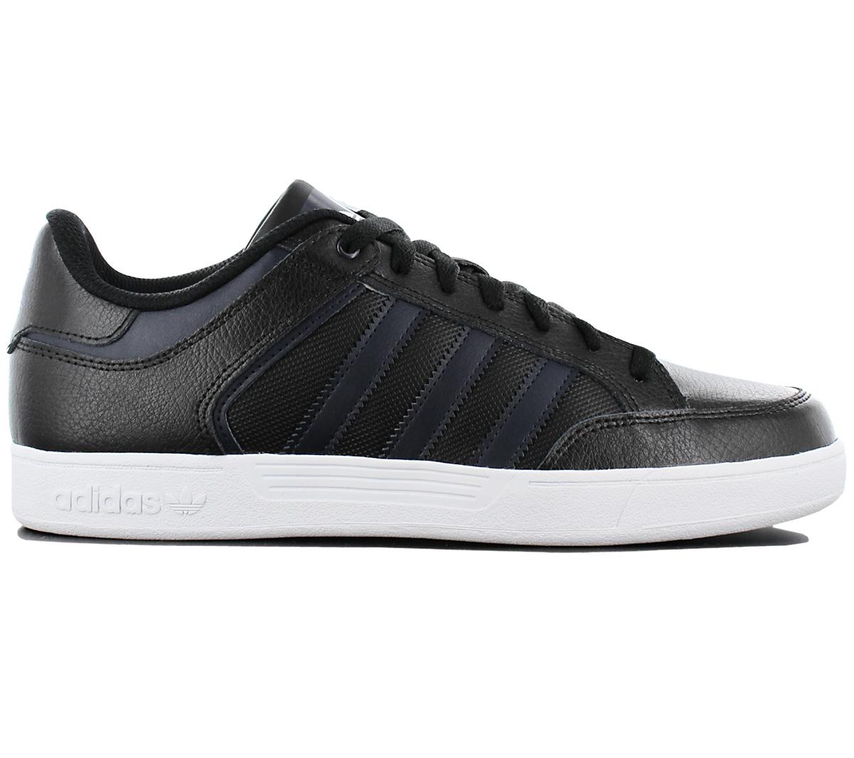 adidas varial scarpe di cuoio nero e scarpe basse uomini pattinare le scarpe