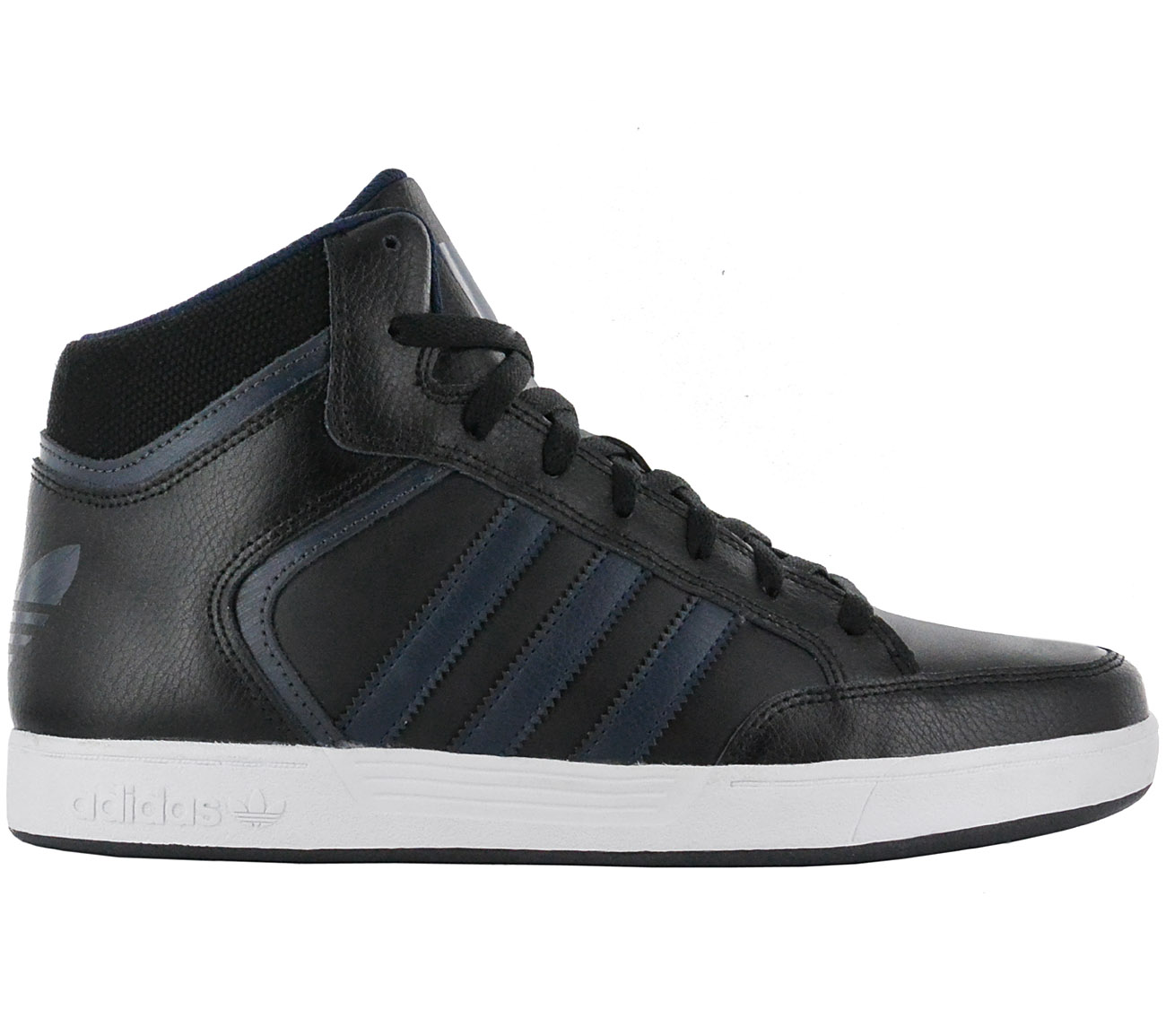 100% authentic f24a9 074d9 Adidas Originals Varial mid Men s Sneakers Shoes Leather Black ...