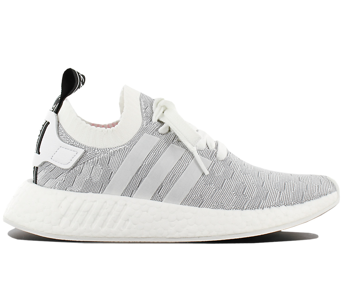 classic fit a3807 437a4 Details about Adidas Originals Nmd R2 Pk W Primeknit Women's Trainers Shoes  R1 BY9520