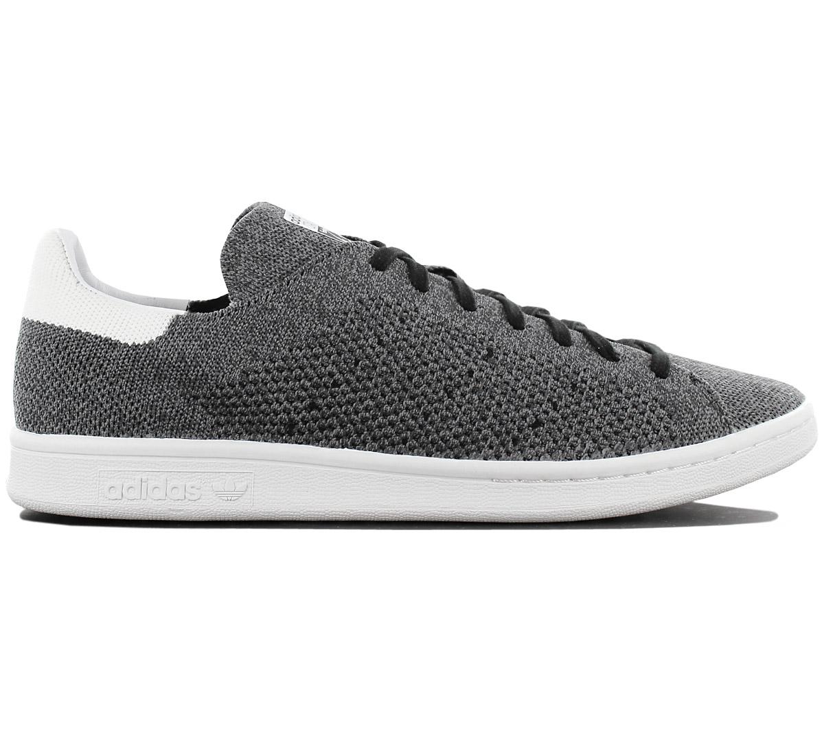 separation shoes 5e7b5 4e8cd Adidas Originals Stan Smith Pk Primeknit Men s Sneakers Shoes Grey ...