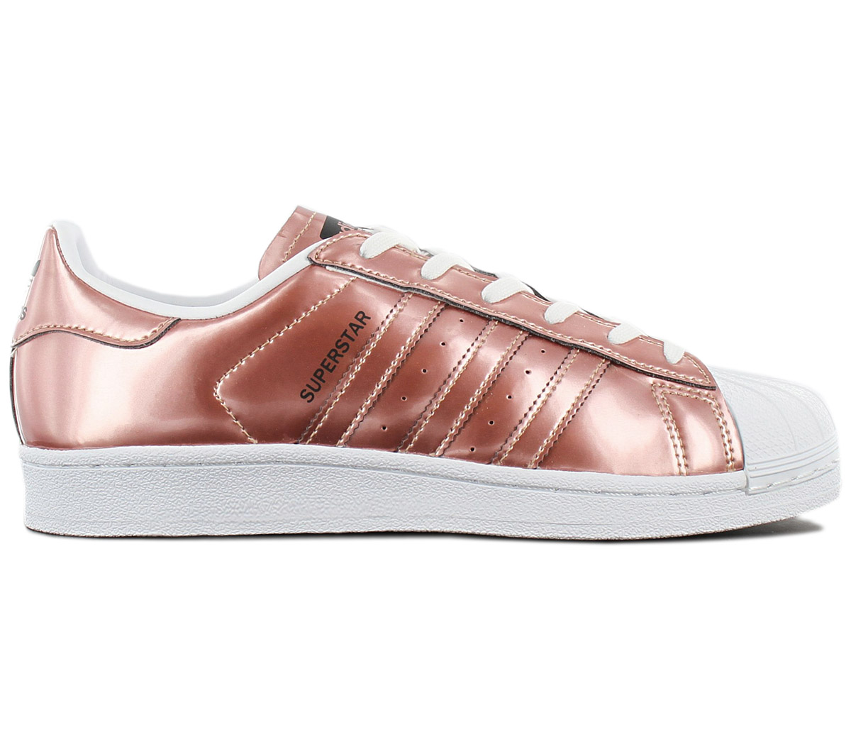 Details zu adidas Originals Superstar W Metallic Kupfer Damen Sneaker CG3680 Schuhe NEU