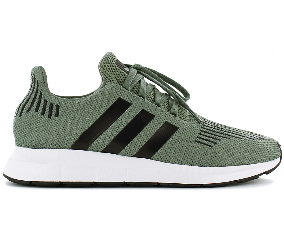 a2a274163 Adidas Originals Swift Run Men s Sneakers Shoes Cg4115 Green Gym ...